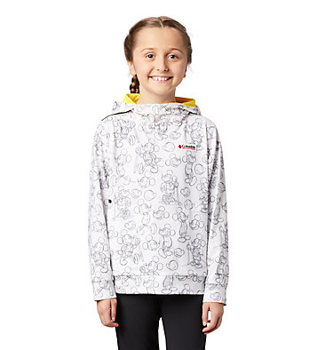 Chandail à enfiler Disney Tech Trail Energy™ pour enfant Disney™ Y Tech Trail Energy Popover | 010 | L, White, front