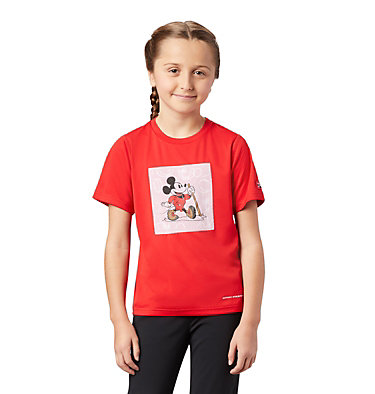 T-shirt imprimé Disney Zero Rules™ pour enfant Disney - Y Zero Rules Graphic Tee | 691 | L, Bright Red, 3/4 front