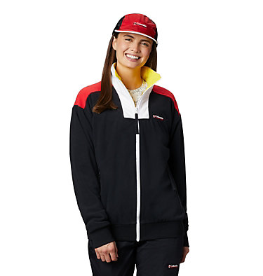 Unisex Disney Intertrainer Fleece™ Jacket Disney - Intertrainer Fleece Jacket | 691 | L, Black, 3/4 front