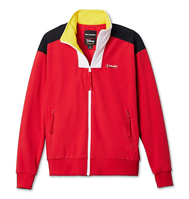 Unisex Disney Intertrainer Fleece™ Jacket Disney - Intertrainer Fleece Jacket | 691 | L, Bright Red, front