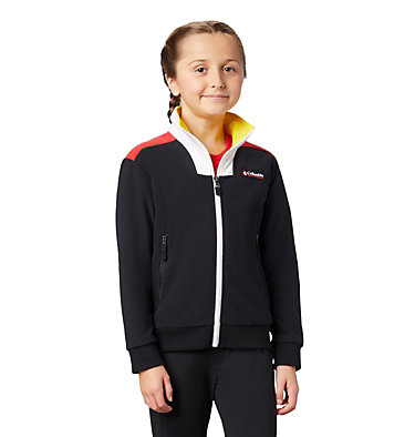 Kids' Disney Intertrainer Fleece Jacket Disney - Y Intertrainer Fleece Jacket | 691 | L, Black, 3/4 front