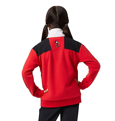 Kids' Disney Intertrainer Fleece Jacket Disney - Y Intertrainer Fleece Jacket | 691 | L, Bright Red, back