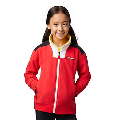 Kids' Disney Intertrainer Fleece Jacket Disney - Y Intertrainer Fleece Jacket | 691 | L, Bright Red, front