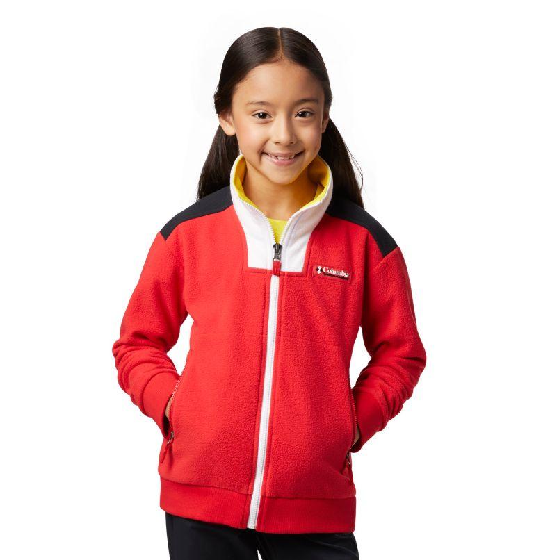 Disney - Y Intertrainer Fleece Jacket | 691 | L Kids' Disney Intertrainer Fleece Jacket, Bright Red, front