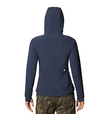 Chandail à capuchon Keele™ Ascent Femme Keele™ Ascent Hoody | 502 | L, Dark Zinc, back