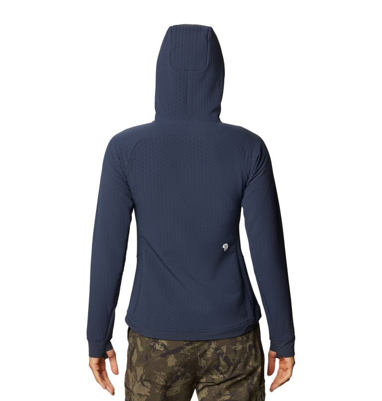 Keele™ Ascent Hoody | 406 | XL Women's Keele™ Ascent Hoody, Dark Zinc, back