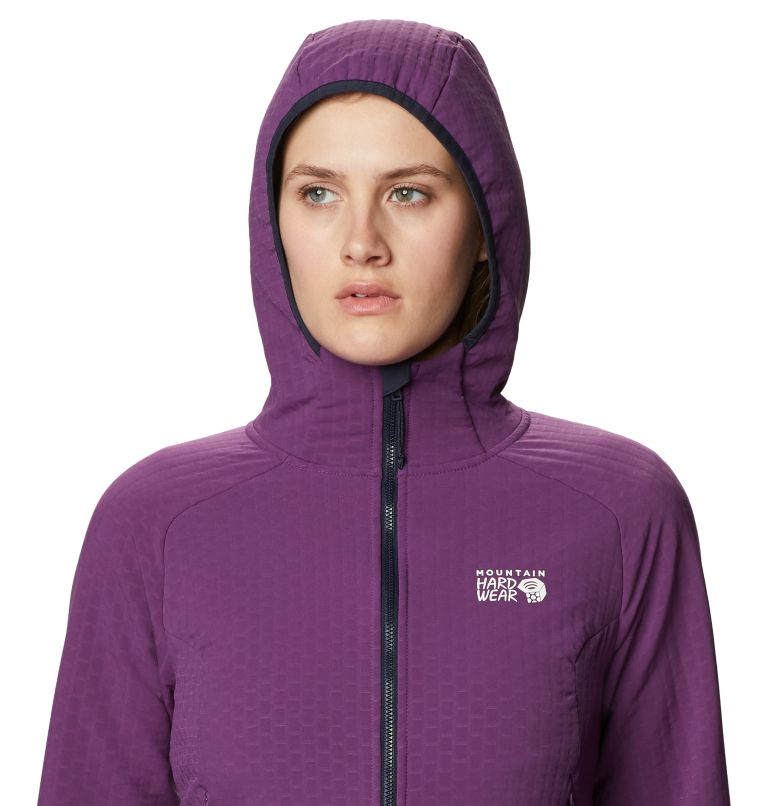 Keele™ Ascent Hoody | 502 | XL Women's Keele™ Ascent Full Zip Hoody, Cosmos Purple, a2