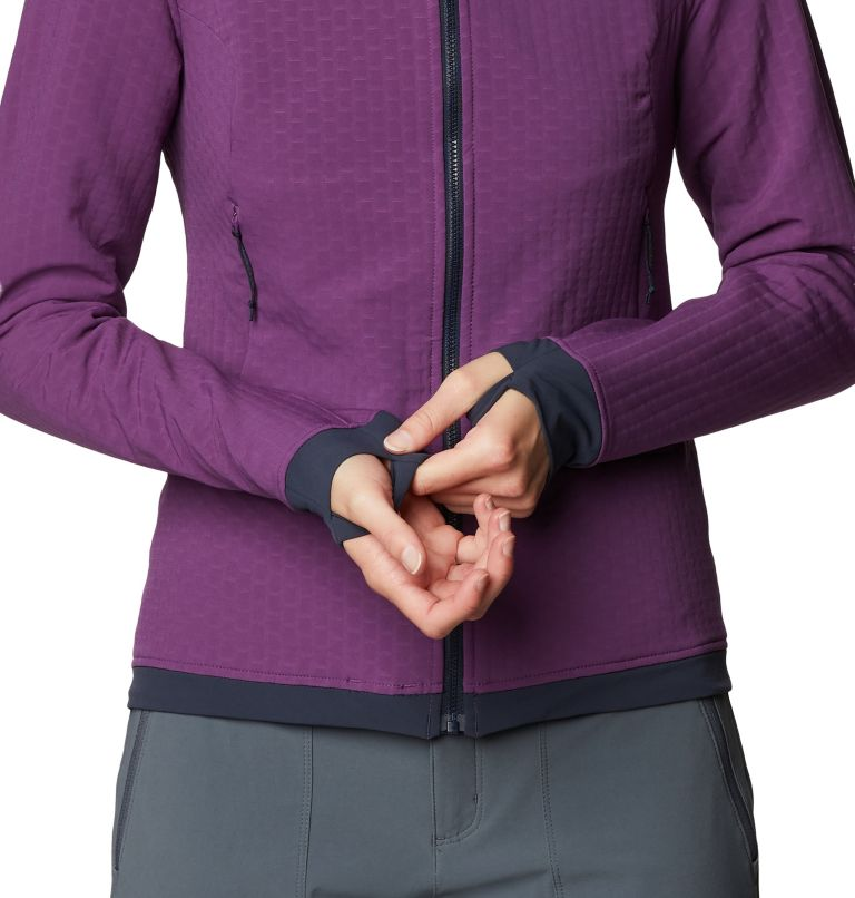 Keele™ Ascent Hoody | 502 | S Women's Keele™ Ascent Hoody, Cosmos Purple, a3