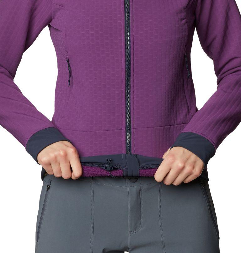 Keele™ Ascent Hoody | 502 | XL Women's Keele™ Ascent Full Zip Hoody, Cosmos Purple, a4