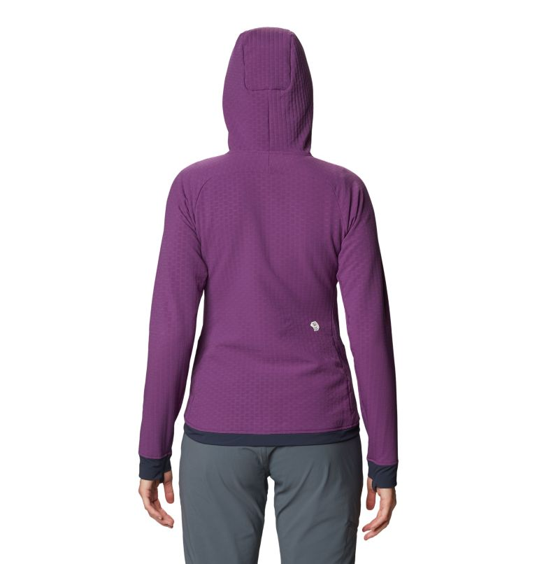 Keele™ Ascent Hoody | 502 | S Women's Keele™ Ascent Hoody, Cosmos Purple, back