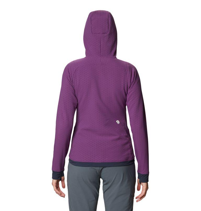 Keele™ Ascent Hoody | 502 | XL Women's Keele™ Ascent Full Zip Hoody, Cosmos Purple, back