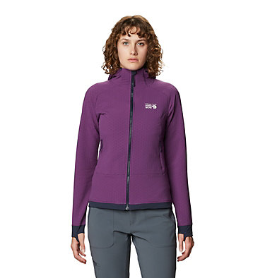 Women's Keele™ Ascent Hoody Keele™ Ascent Hoody | 502 | L, Cosmos Purple, front