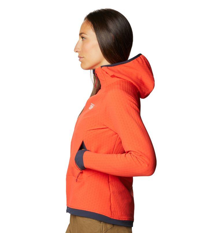 Keele™ Ascent Hoody | 636 | S Women's Keele™ Ascent Full Zip Hoody, Fiery Red, a1
