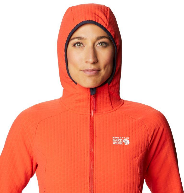 Keele™ Ascent Hoody | 636 | S Women's Keele™ Ascent Full Zip Hoody, Fiery Red, a2