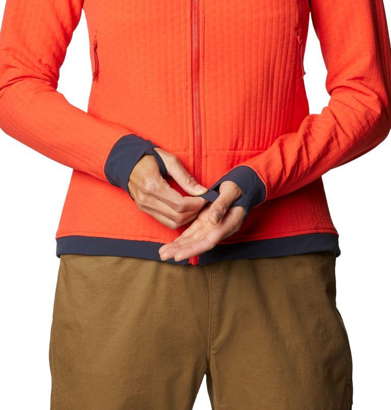 Keele™ Ascent Hoody | 636 | S Women's Keele™ Ascent Full Zip Hoody, Fiery Red, a3