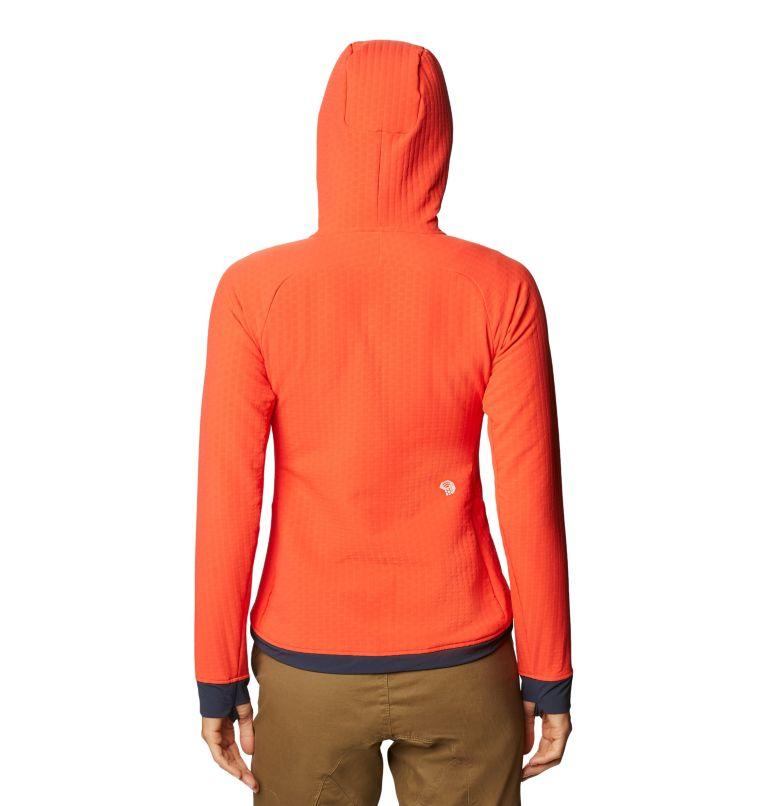 Keele™ Ascent Hoody | 636 | S Women's Keele™ Ascent Full Zip Hoody, Fiery Red, back