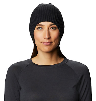 Women's Castles™ Slouchy Beanie Castles™ Slouchy Beanie | 073 | O/S, Black, front