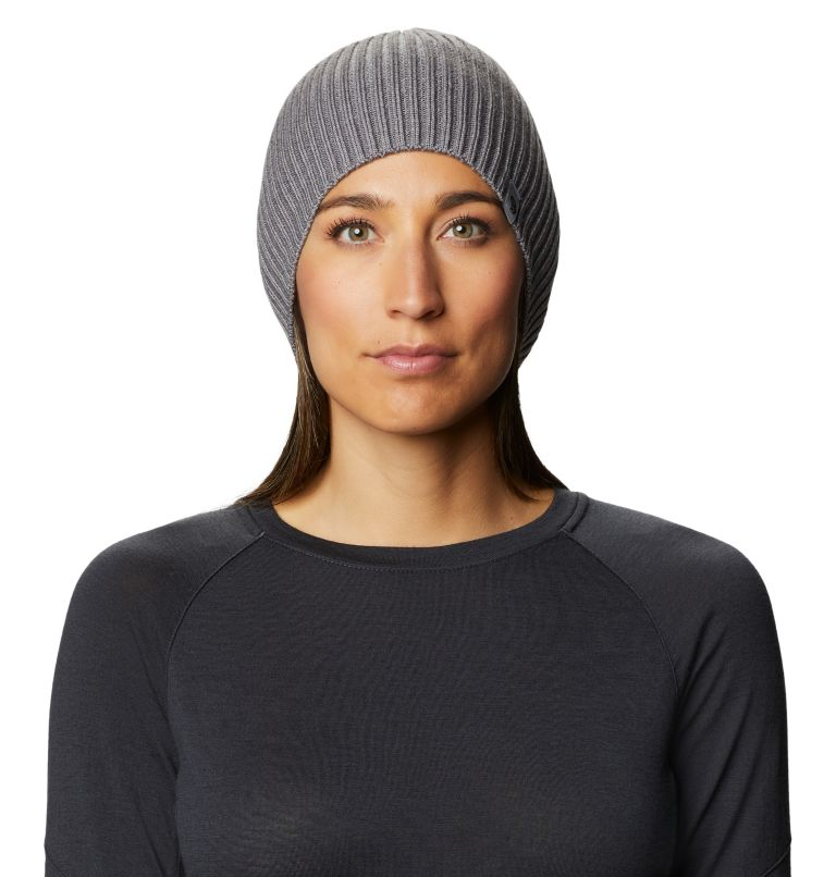 Castles™ Slouchy Beanie | 073 | O/S Women's Castles™ Slouchy Beanie, Manta Grey, front