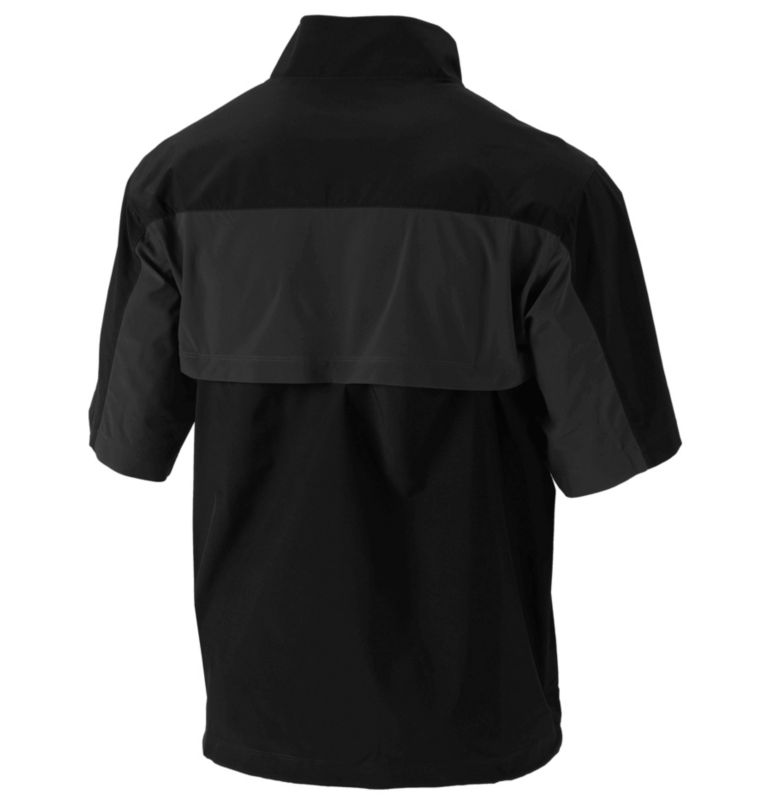 Men's Early Riser Short Sleeve Windbreaker  Men's Early Riser Short Sleeve Windbreaker , back