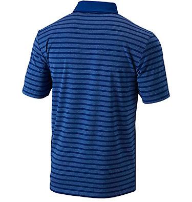 Men's Golf Omni-Wick™ Gamer Polo Men's Golf Omni Wick Gamer Pol | 610 | S, Azul, back