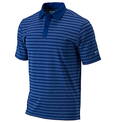 Men's Golf Omni-Wick™ Gamer Polo Men's Golf Omni Wick Gamer Pol | 610 | S, Azul, front