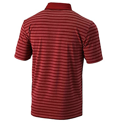 Men's Golf Omni-Wick™ Gamer Polo Men's Golf Omni Wick Gamer Pol   610   S, Intense Red, back