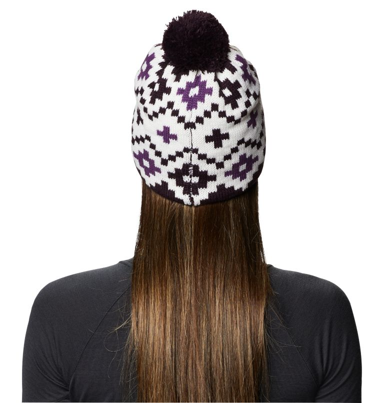 White Peak™ Beanie | 102 | O/S Women's White Peak™ Beanie, Fogbank, back