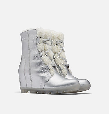 Disney X Sorel Women's Joan of Arctic Frozen 2 Boot DISNEY X SOREL JOAN OF ARCTIC™ | 034 | 10, Pure Silver, 3/4 front