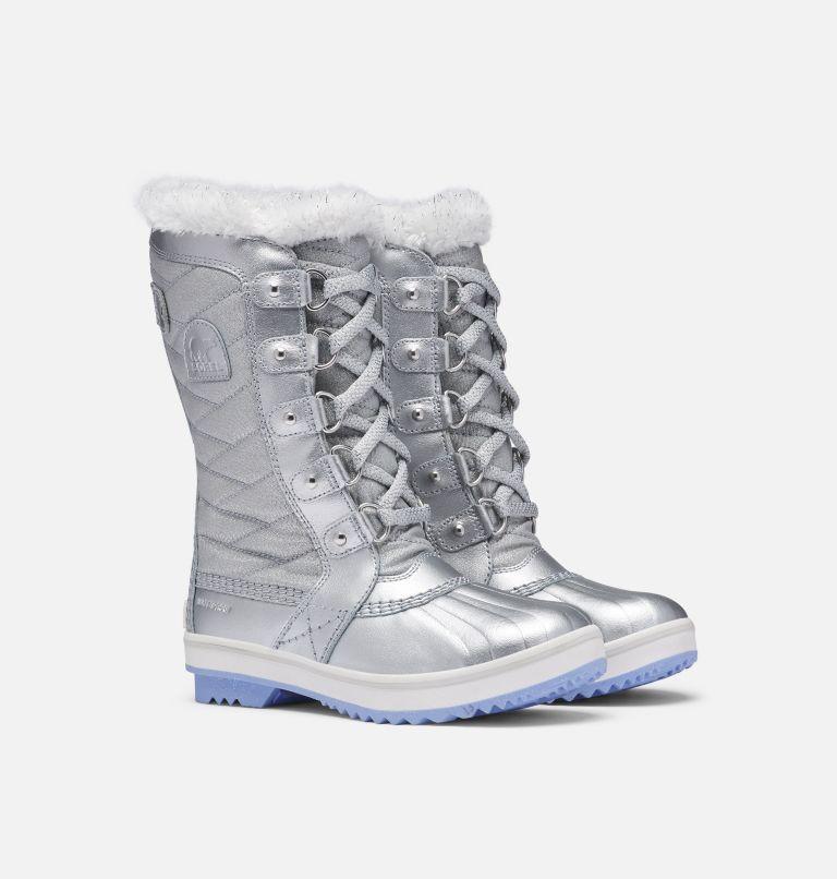 Disney X Sorel Children's Youth Tofino Boot –Frozen 2 Boot Disney X Sorel Children's Youth Tofino Boot –Frozen 2 Boot, 3/4 front
