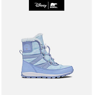 Disney x SOREL Youth Whitney™ Short Frozen 2 Boot –Elsa edition