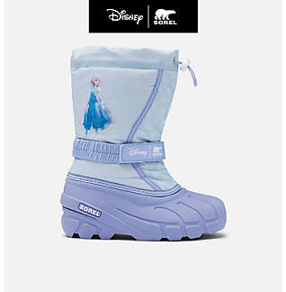 Disney x SOREL Youth Flurry™ Frozen 2 Boot –Elsa edition