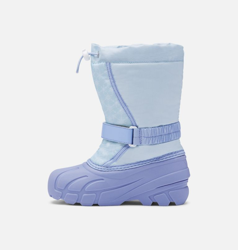 Disney X Sorel Youth Flurry™ Frozen 2 Boot –Elsa Edition Disney X Sorel Youth Flurry™ Frozen 2 Boot –Elsa Edition, medial