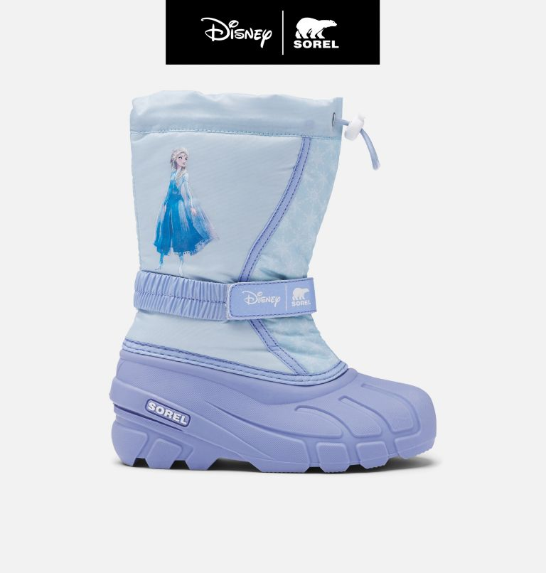 Disney X Sorel Children's Flurry™ Frozen 2 Boot –Elsa Edition Disney X Sorel Children's Flurry™ Frozen 2 Boot –Elsa Edition, front
