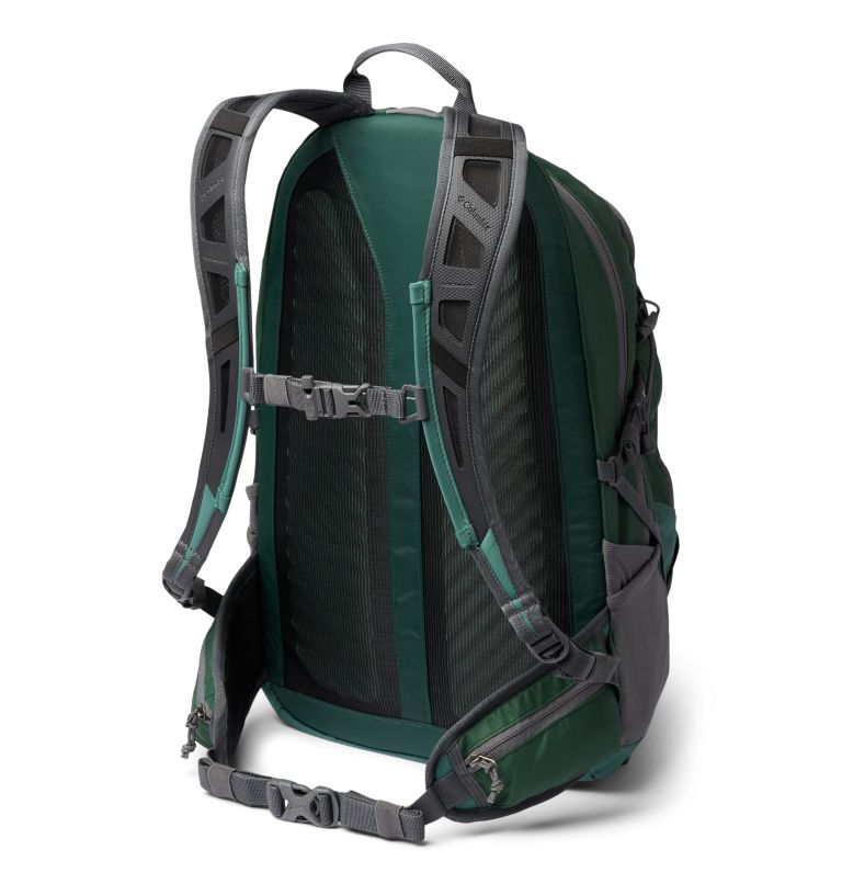 Silver Ridge™ 30L Backpack | 369 | O/S Silver Ridge™ 30L Backpack, Thyme Green, Rain Forest, back