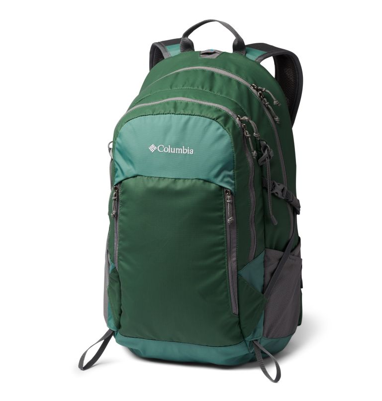 Silver Ridge™ 30L Backpack | 369 | O/S Silver Ridge™ 30L Backpack, Thyme Green, Rain Forest, front