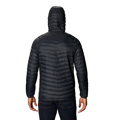 Men's South Valley™ Hybrid Hooded Jacket South Valley™ Hybrid Hooded Jacket | 469 | L, Black, back