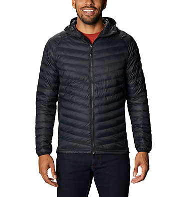 Men's South Valley™ Hybrid Hooded Jacket South Valley™ Hybrid Hooded Jacket | 469 | L, Black, front