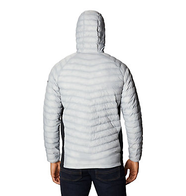 Men's South Valley™ Hybrid Hooded Jacket South Valley™ Hybrid Hooded Jacket | 469 | L, Cool Grey Heather, Black, back