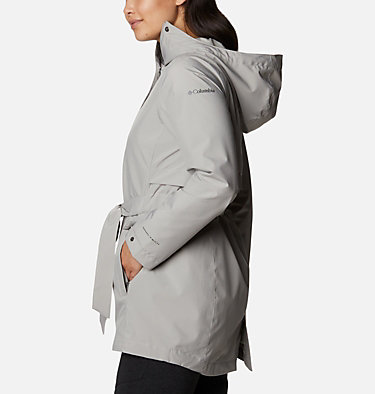 Women's Trench Of Many™ Jacket Trench Of Many™ Jacket | 010 | L, Flint Grey, back