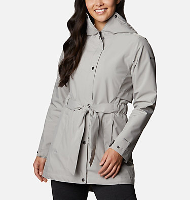 Women's Trench Of Many™ Jacket Trench Of Many™ Jacket | 010 | L, Flint Grey, front