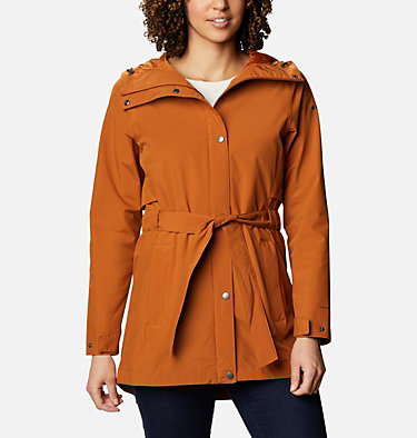 Manteau Trench Of Many™ pour femme Trench Of Many™ Jacket | 010 | L, Caramel, front
