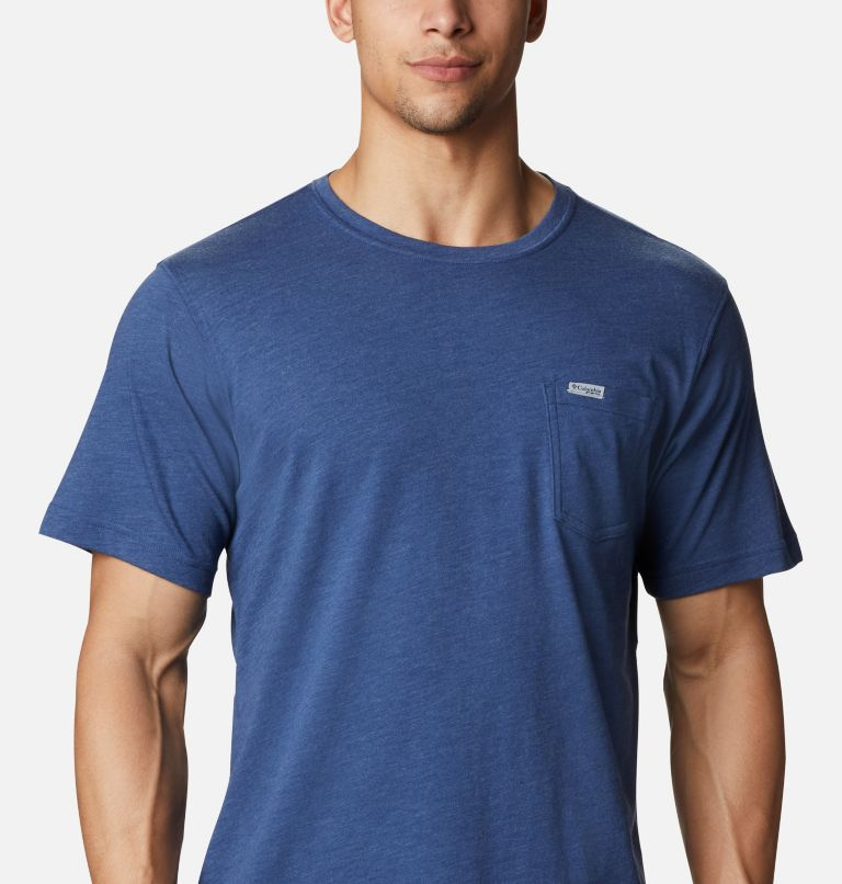 Men's PFG™ Fish Flag Pocket T-Shirt Men's PFG™ Fish Flag Pocket T-Shirt, a2