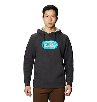 Men's MHW Out Yonder™ Pullover Hoody MHW Out Yonder™ Pullover Hoody | 831 | L, Heather Black, front