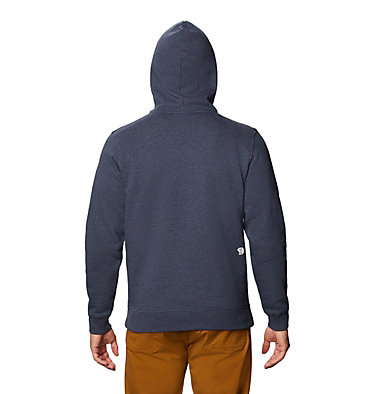Men's MHW Out Yonder™ Pullover Hoody MHW Out Yonder™ Pullover Hoody | 831 | L, Heather Dark Zinc, back