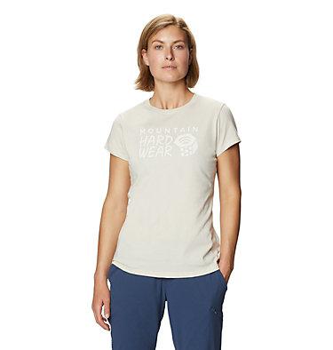Women's Mountain Hardwear Logo™ Short Sleeve T-Shirt Mountain Hardwear Logo™ Short Sleeve T | 599 | L, Stone, front