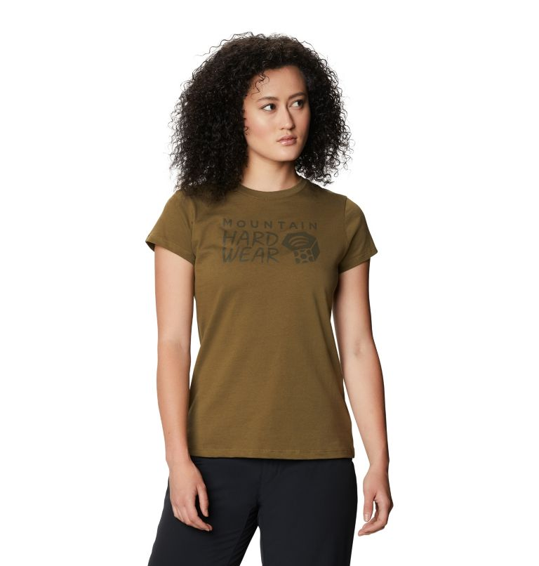 Mountain Hardwear Logo™ Short Sleeve T | 253 | M Women's Mountain Hardwear Logo™ Short Sleeve T, Raw Clay, front