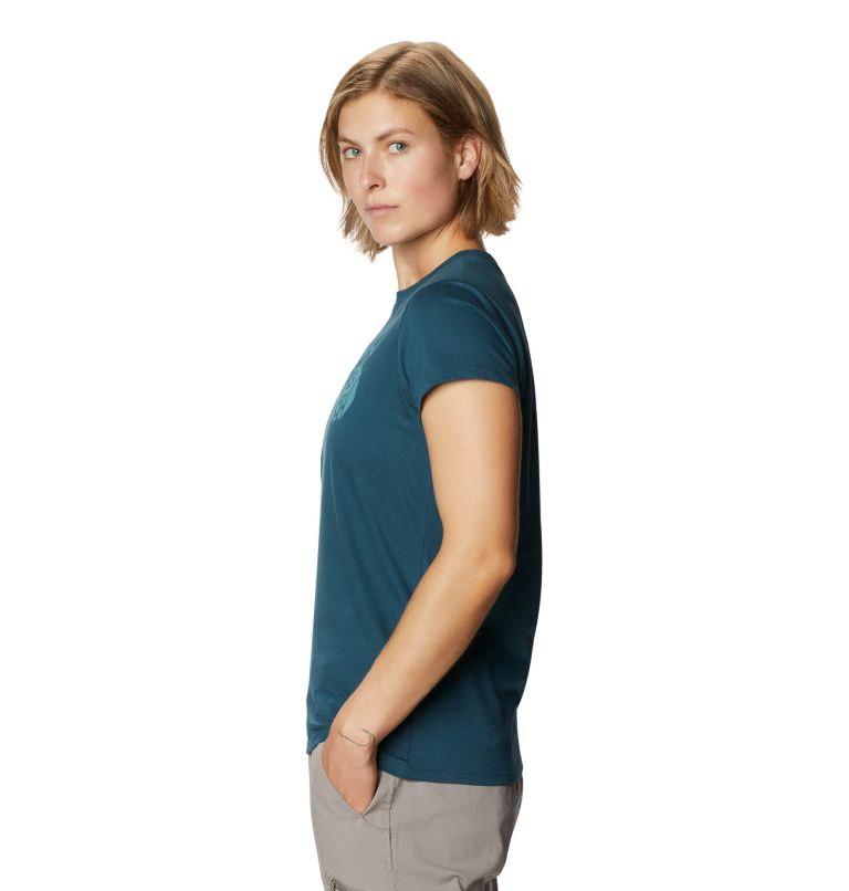 Mountain Hardwear Logo™ Short Sleeve T | 324 | M Women's Mountain Hardwear Logo™ Short Sleeve T, Icelandic, a1