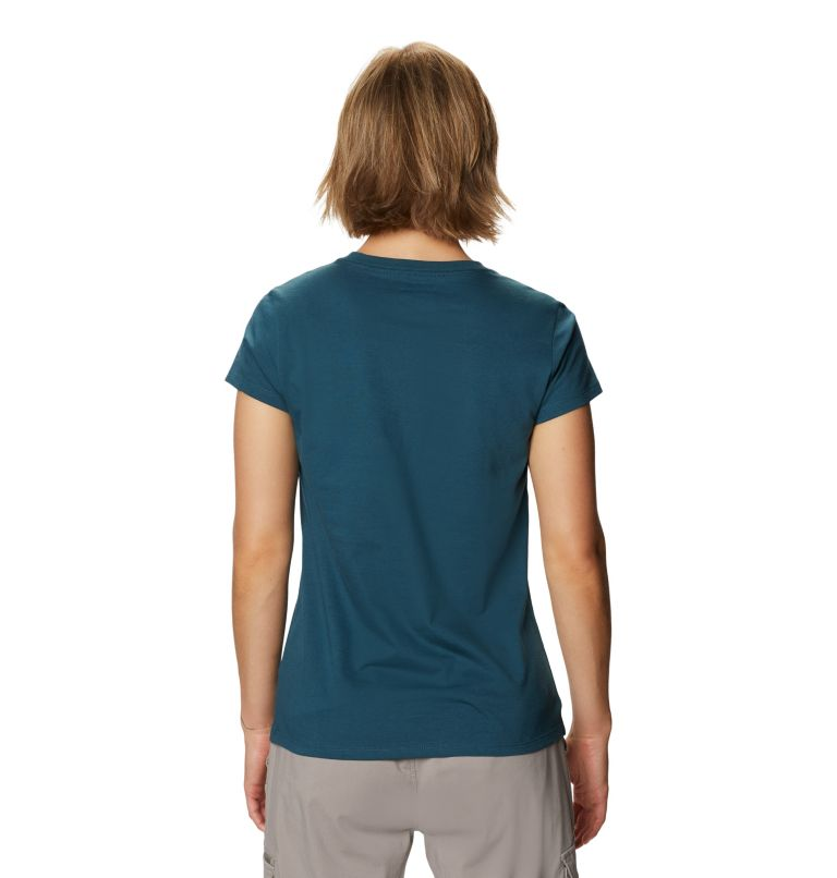 Mountain Hardwear Logo™ Short Sleeve T | 324 | XS Women's Mountain Hardwear Logo™ Short Sleeve T, Icelandic, back