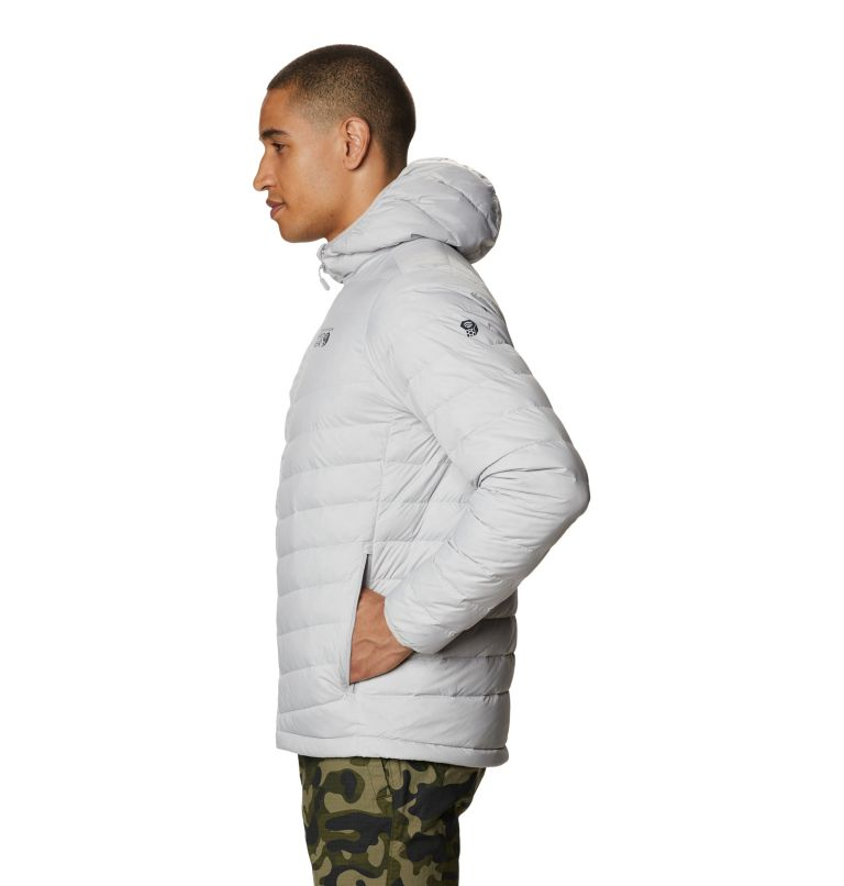 Hotlum™ M Hooded Jacket | 063 | L Men's Hotlum™ Hooded Down Jacket, Grey Ice, a1