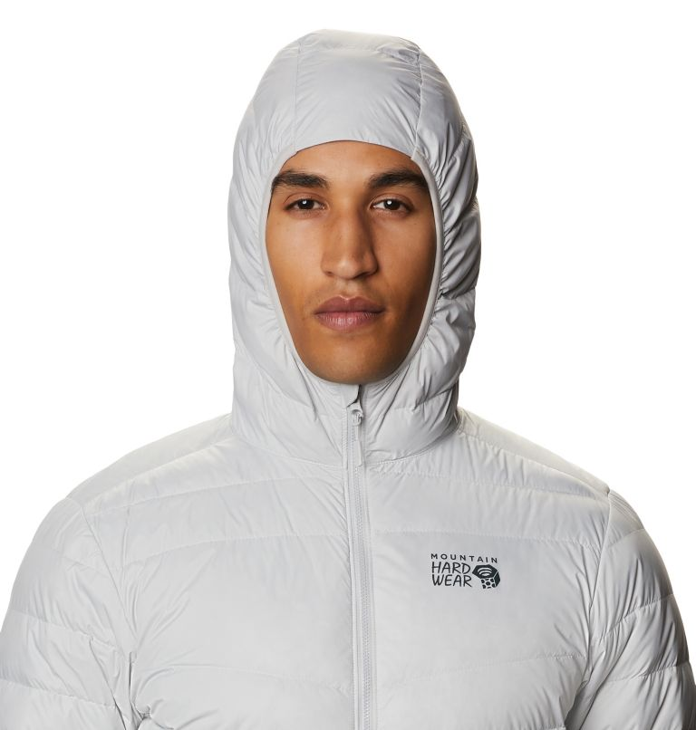 Hotlum™ M Hooded Jacket | 063 | L Men's Hotlum™ Hooded Down Jacket, Grey Ice, a2